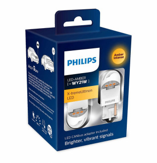 Philips X-tremeUltinon 2-го поколения WY21W + преобразователи, 2шт. 11498XUAXM