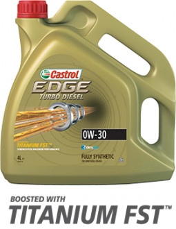 Масло моторное CASTROL EDGE TURBO DIESEL 0W-30 4 литра