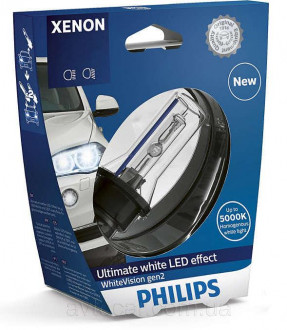 Philips Xenon WhiteVision gen2 D3S 42403WHV2