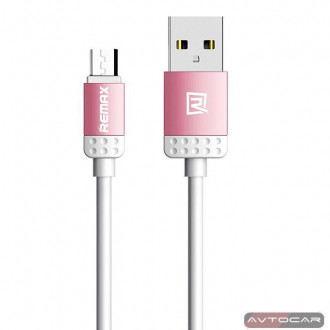 Кабель micro USB Remax Lovely RC-010m, USB 2.0 ➲ micro USB