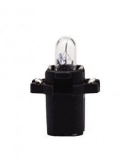 Автолампа Philips Black 12V 1.2W BAX 8,3/1,35